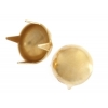 Garment Studs Dome Gold 6mm
